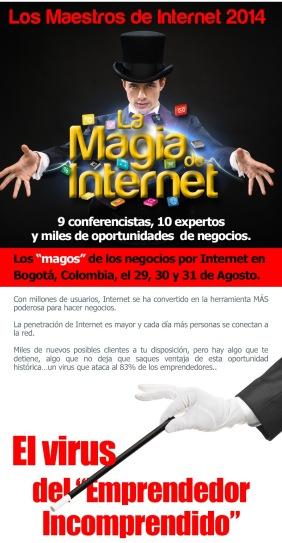 La magia de internet